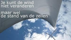 Organisatieadvies WERK EN U- Je kunt de wind niet veranderen...